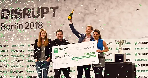 Startup Battlefield at Disrupt Berlin 2018 現地レポート