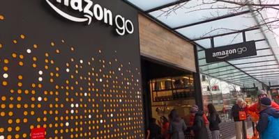 持ち出すだけで決済完了 Amazon Goとは?