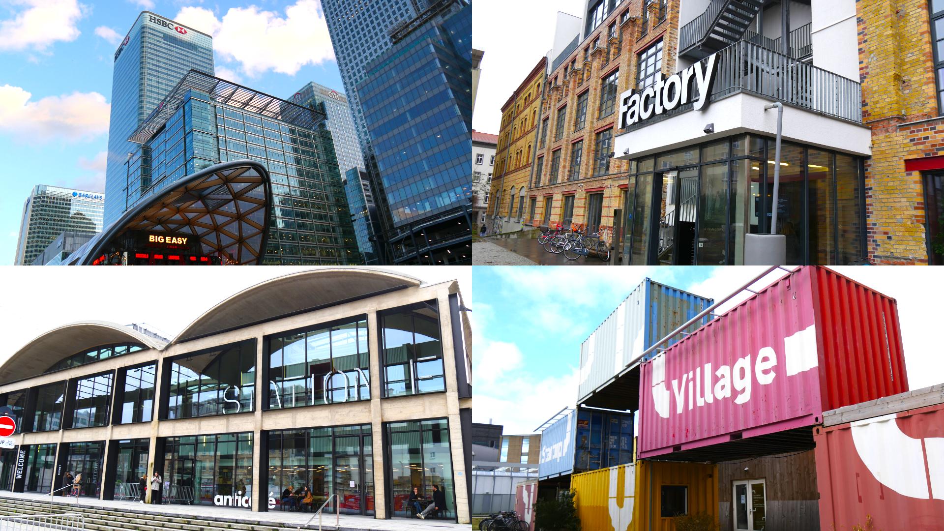 【from Europe Vol.1】ヨーロッパ4都市のスタートアップエコシステムを徹底比較!