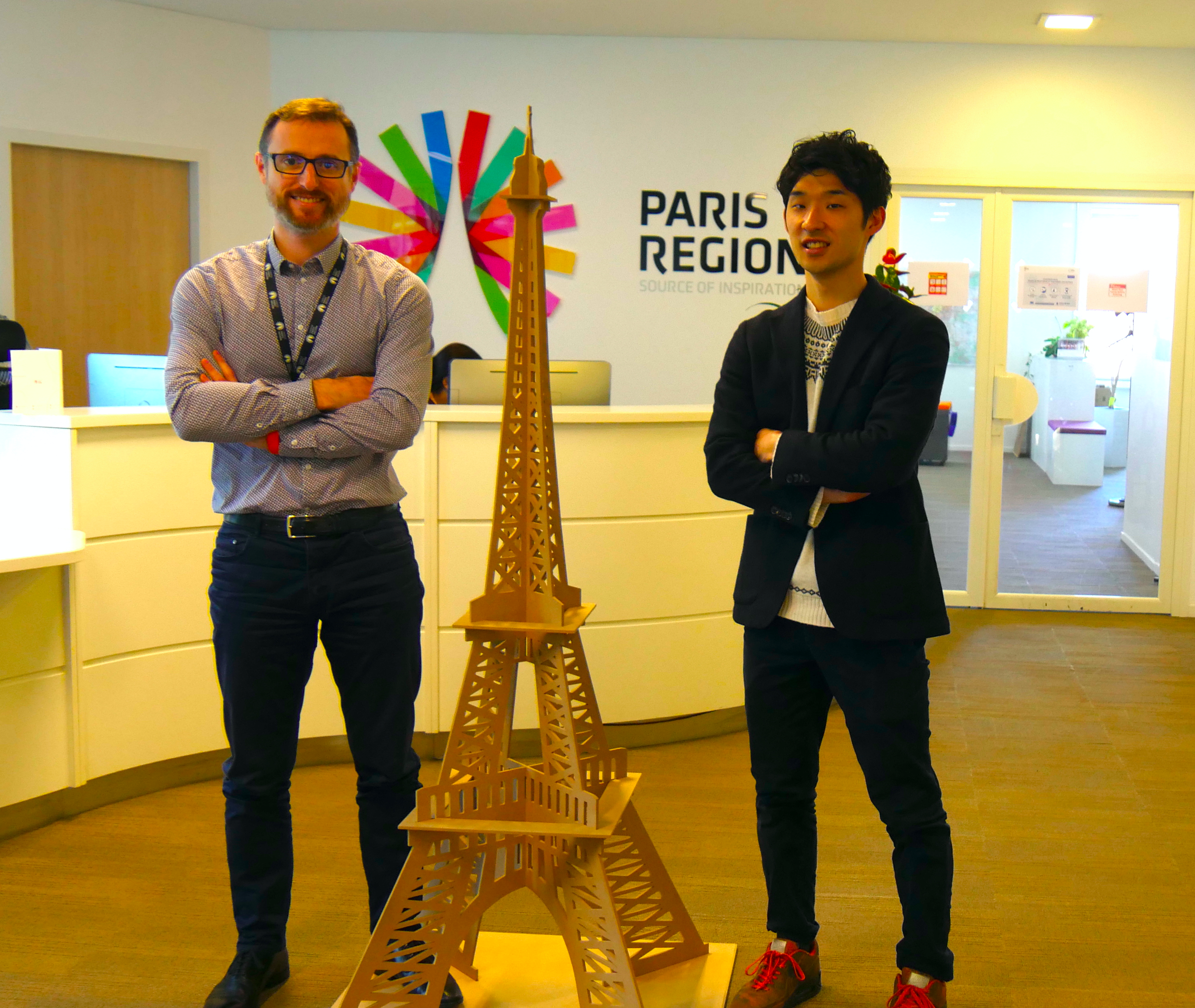 【from Paris】スタートアップへの支援を推し進めるChoose Paris Regionを訪問!